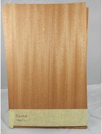 10/feuilles de placage de bois naturel pour lmarqueterie d/éb/ène makassar 260/mm x 70/mm x 0,6/mm