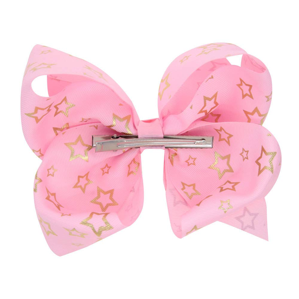 Girl Bow Baby Hairpins Gilding Girl Hair Clip Accessories Gift