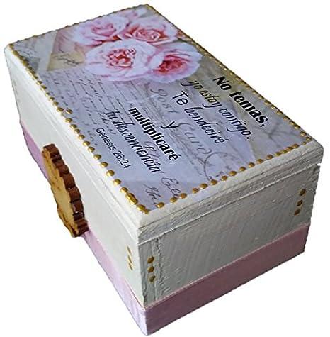 Amazon.com: Gospel Gift Promise Box 60 Daily Scripture Bilingual Card - Caja de Promesas 60 tarjetas Bilingues Prayer Cards: Home & Kitchen