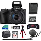 "Canon PowerShot SX420 Digital Camera 42x Optical Zoom Wi-Fi NFC Enabled, 32GB SD Card, DSLR Camera Bag, 12"" Tripod, Memory Card Wallet, and Premium Accessory Bundle"