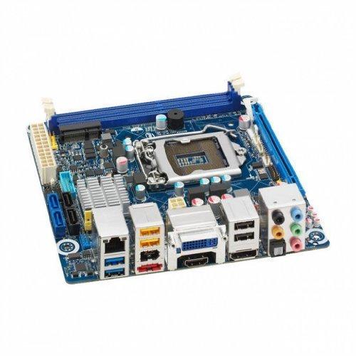 Intel Pci Usb (Intel BLKDH77DF LGA1155/ Intel H77/ DDR3/ SATA3&USB3.0/ A&GbE/ Mini ITX Motherboard)