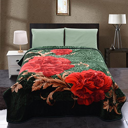 Jml Soft Full Size Plush Fleece Bed Throw Blankets King