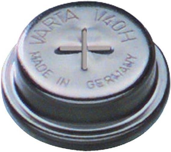 Varta V40h Knopfzellen Akku 40h Nimh 43 Mah 1 2 V 1 St Elektronik