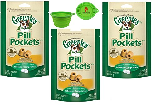 Greenies Chicken Flavored Tablets Collapsible