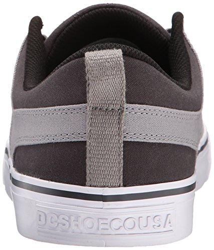 DC Herren Lynx Schnür Mode Sneaker Grau weiß