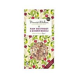 Primrose\'s Kitchen Raw Beetroot & Ginger Muesli 400g - Pack of 2