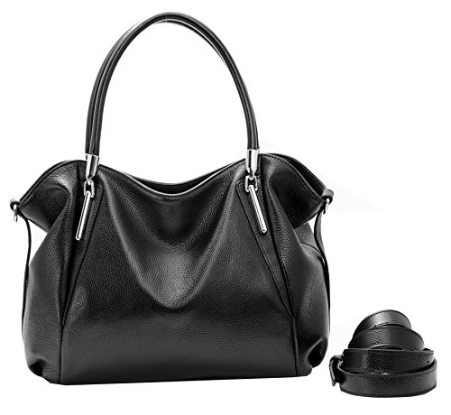 Designer Bag Top Leather Handle Heshe Bag Purse Tote Cross Handbag Leather top Grain Shoulder Hobo Bag Black Womens Handbags Ladies Body XSRPRfW
