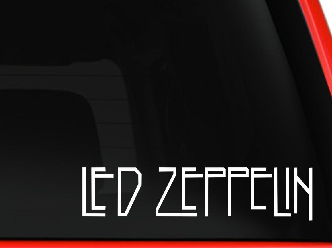 美しい LED ZEPPELIN ROCK BANDカーウィンドウビニールデカールステッカー 8 inches inches ホワイト 8 LZR 8 ROCK inches ホワイト B078K3CP5S, 近江牛さかえや:ffe8d960 --- svecha37.ru