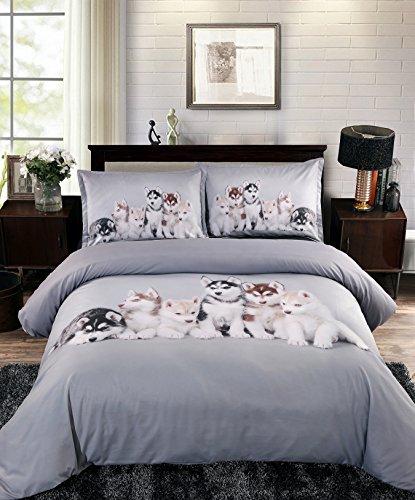 Ammybeddings 5PCS Soft Comforter Sets Twin Size,Modern Luxur