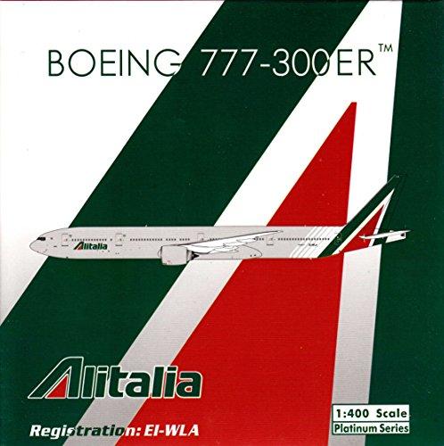 PHX1659 1:400 Phoenix Model Alitalia Boeing 777-300ER Reg #EI-WLA (pre-painted/pre-built)