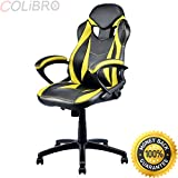COLIBROX--Executive Race Car Style Chair High Back Bucket Seat Gaming Office Computer New. high back race car style bucket seat office desk chair gaming chair. best racing seat office chair amazon.