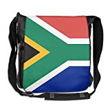 EASON-G Messenger Bag Flag Of South Africa Crossbody Shoulder Bag For Men Women