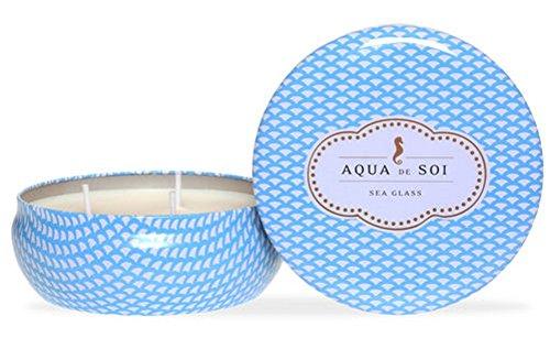 The SOi Company Aqua de SOi 100% Premium Natural Soy Candle, 21 Ounces Triple Wick, Sea ()