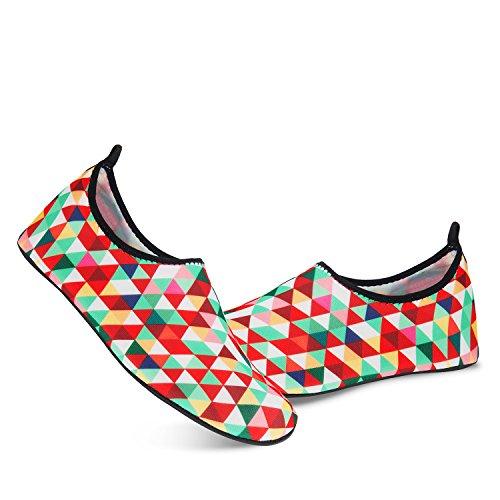 Aqua De Snorkeling Chaussettes Plonge Chaussures Pour Nus Spotrs Piscine Rapide Yoga Femmes Swim Plage Surf Pieds Schage Multicouleur Hommes zIqqEOx7w