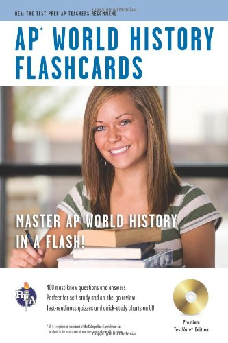 AP® World History Premium Edition Flashcard Book (Advanced Placement (AP) Test Preparation)