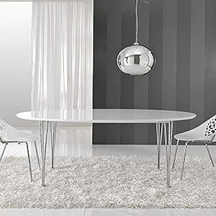 Tavolo ovale allungabile Elegant: Amazon.it: Casa e cucina