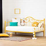 Balka Metal Daybed with Metal Slats--Yellow-South