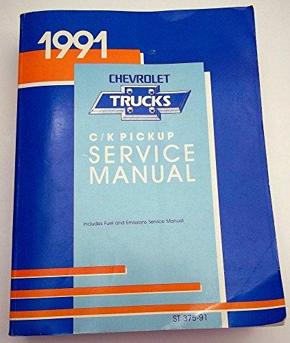 Chevrolet C/K Pickup Trucks 1991 Service Manual