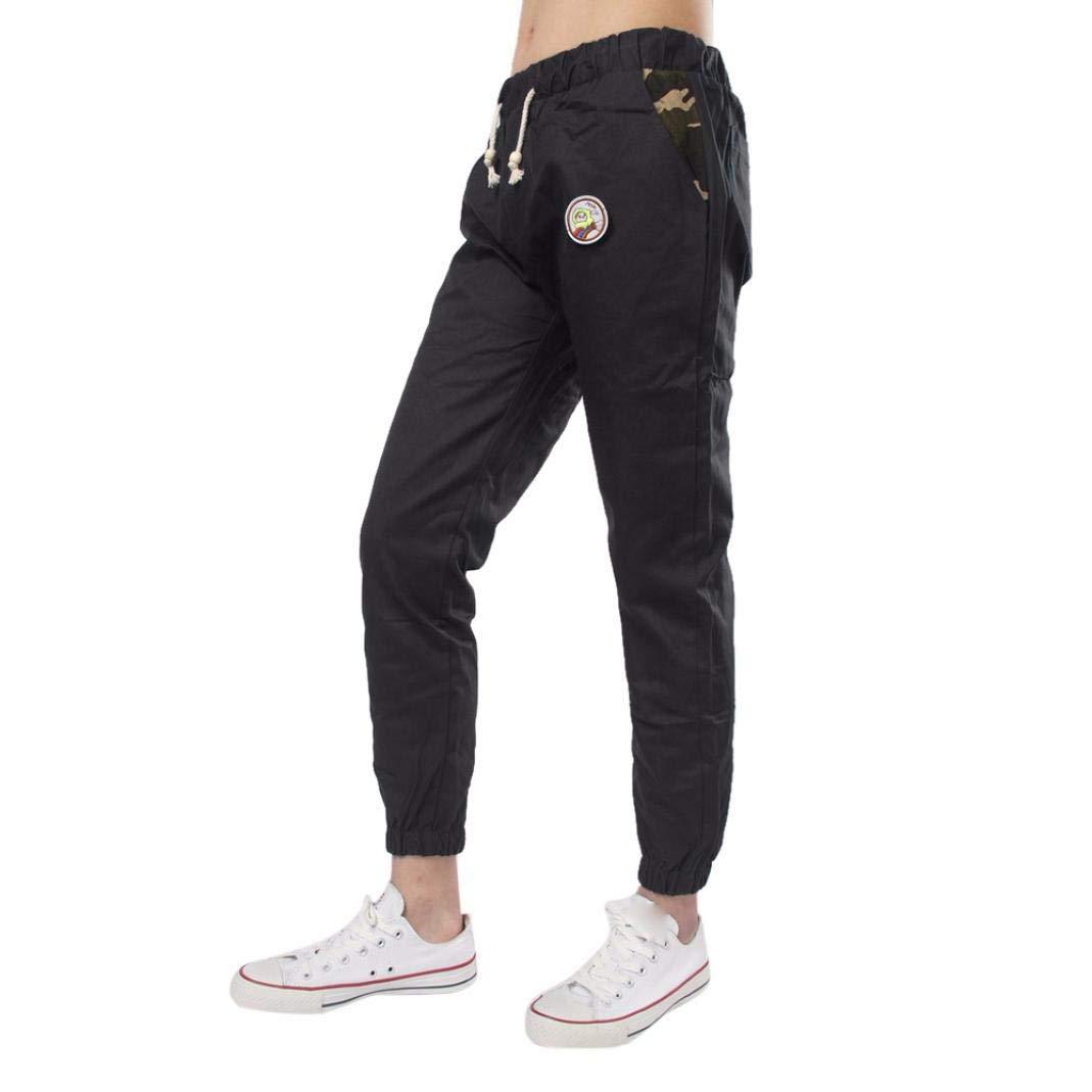 Realdo Clearance Casual Slim Solid Sweatpants Loose Fashion Jogger Pant Sportwear Comfy for Men(X-Large,Black)
