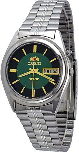Orient #BEM6Q002F Men's Green Dial Tri Star Standard Self Winding Automatic Watch