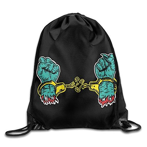 Drawstring Backpack Bag Run The Jewels Hip Hop Nylon Home Travel Sport Storage
