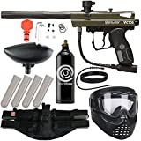 Action Village Kingman Spyder Epic Paintball Gun Package Kit (Victor) (Olive)