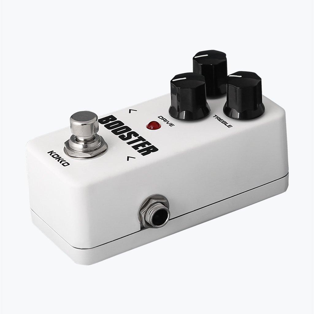 Accesorios Musicales FBS-2 Sec EQ Mini Refuerzo Efecto con Bypass Real para la Guitarra Eléctrica: Amazon.es: Instrumentos musicales