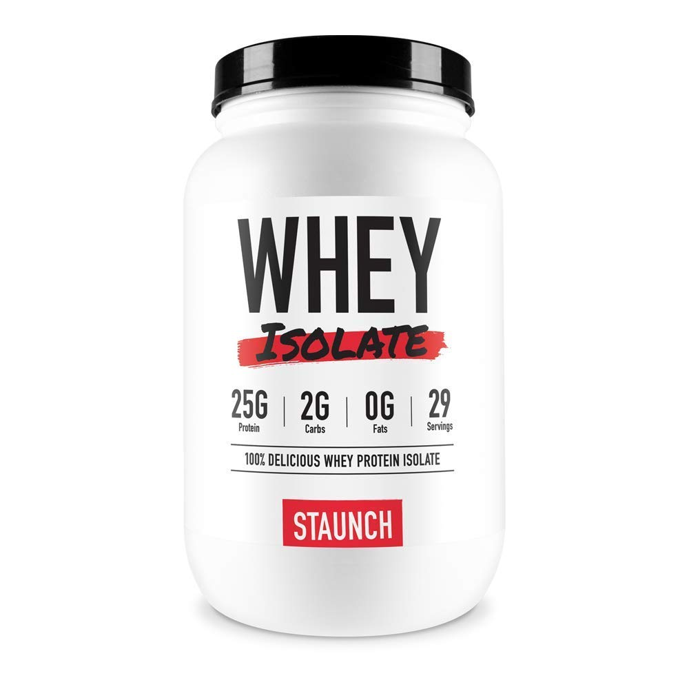 Staunch Whey Isolate (Hot Chokkie) 2 LBS - Premium, High Quality Whey Protein Isolate by Staunch