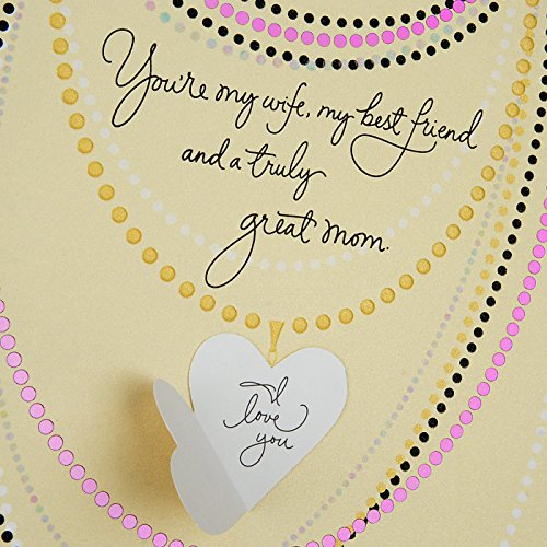 Hallmark Mother's Day Greeting Card for Wife (With All My Heart) Photo #7