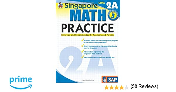 Workbook equivalent fractions worksheets pdf : Amazon.com: Singapore Math Practice, Level 2A, Grade 3 ...