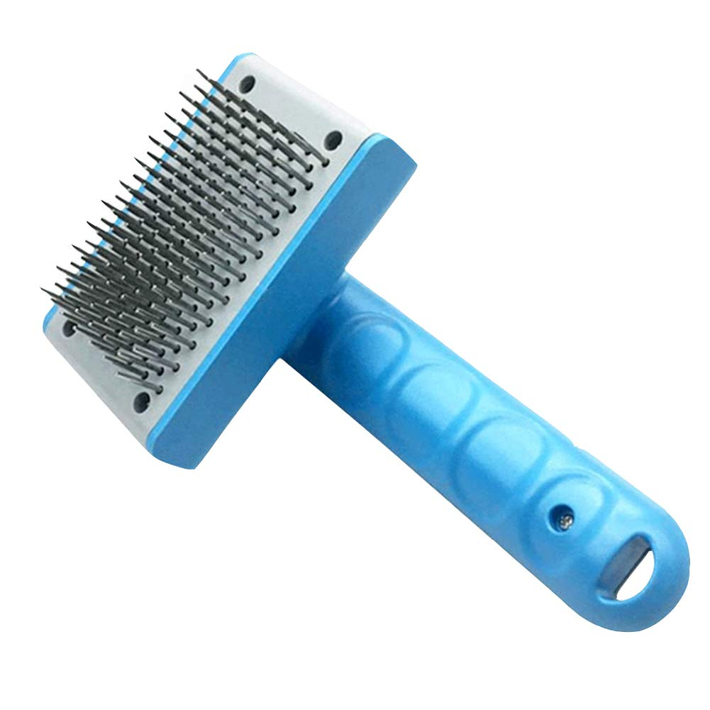 A 10x16cm(4x6inch) A 10x16cm(4x6inch) Pet Grooming Brush,Easy to Clean no Deformation no Rust pet Comb Thgoldughly Clean,No harm to The Skin-A 10x16cm(4x6inch)