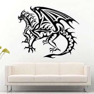 jiuyaomai Dragón Tribal de Fuego Escala de Reptiles Alas de ...