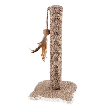 non-brand Sharplace Gato Árbol Torre Gatito Muebles Rascador Poste Mascota Gato Jugar Masticar Juguete