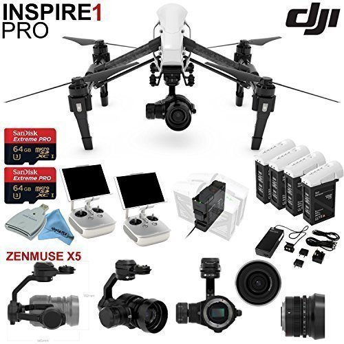 DJl-lnspire-1-Pro-Quadcopter-Drone-with-eDigitalUSA-Ready-To-Fly-Kit-Includes-4-Batteries-with-Charging-Hub-Charges-4-batteries-at-the-same-time-and-more
