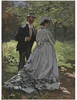claude monet bazille and camille decorative notebook journal 85 x 11