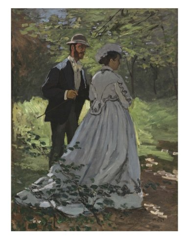 Claude Monet Bazille and Camille: Decorative Notebook + Journal (8.5