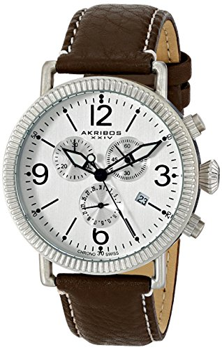 Cream Dial Brown Leather - 5
