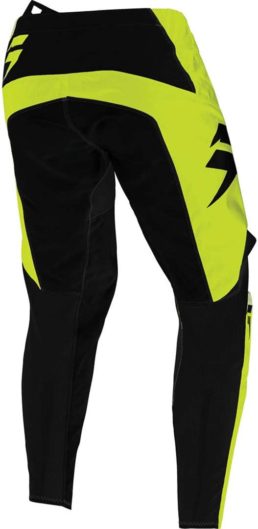 2020 Shift Youth White Label Race Pants-Flo Yellow-24