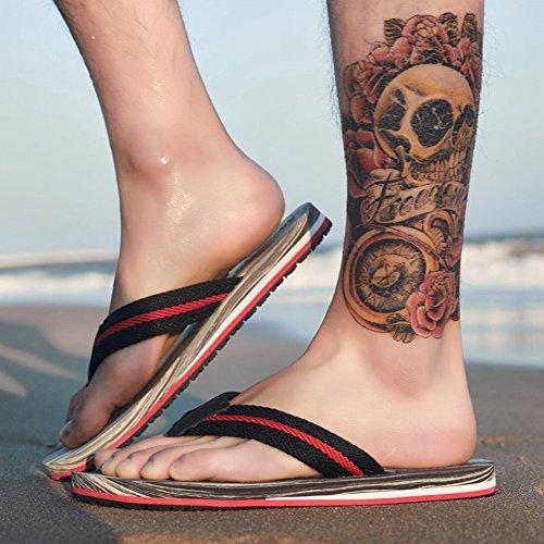 da Fashion Infradito YTTY Leggero Spiaggia All Pantofole Sandali legno Ciabatte Indossare da Pantofole del Comodi grigio Venatura Match r5zzx0B1wq