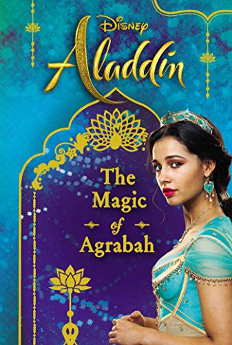 Book cover from Disney Aladdin: The Magic of Agrabah (Replica Journal) by Rachael Upton