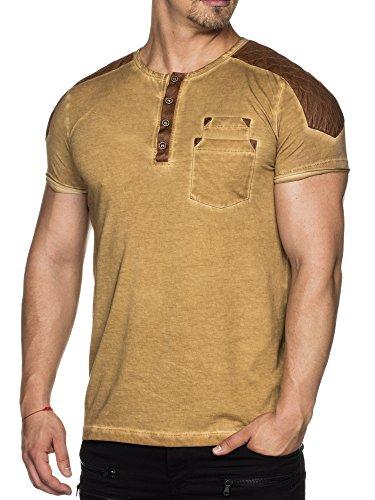 Tazzio Marrone T Chiaro shirt Uomo 1rwXaOFx1T