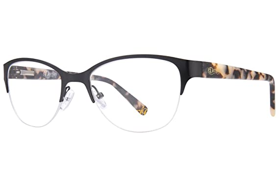 4a62f16fe3 Dereon DOV532 Women s Eyeglass Frames - Black at Amazon Women s ...