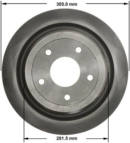 Bendix PRT5791 Brake Rotor