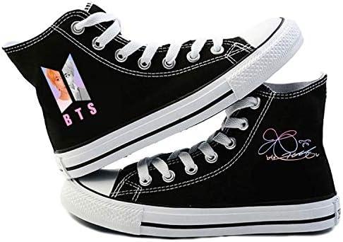 CHAIRAY Zapatillas de Lona para niños KPOP BTS, de Jungkook Jimin ...