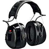 3M Peltor HRXS220A Hörselskydd med Pannband med Integrerad Radio, Svart