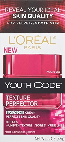 (Pack of 2) L'Oreal Paris Youth Code Texture Perfector Day/Night Cream, 1.7 Fluid Ounce