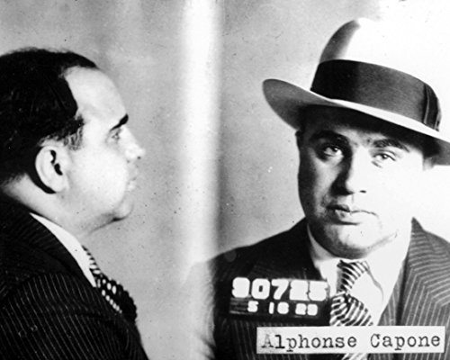 Globe Photos ArtPrints Mug Shot of Al Capone - 24