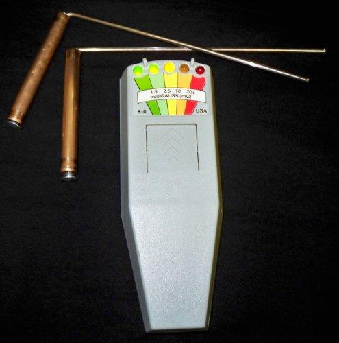 K2 KII EMF Meter & Mini Dowsing Rods by K2