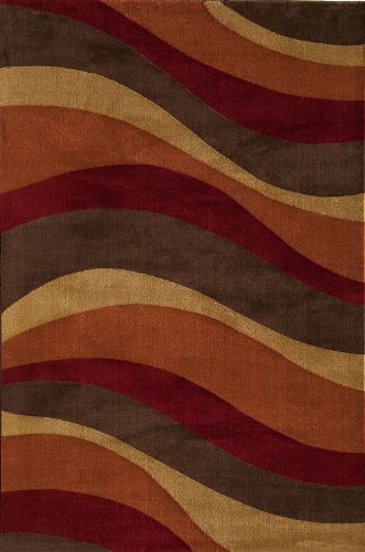 Torino Rug Collection (Rugs America Contemporary Rectangle Area Rug 7'10