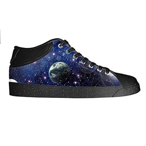 Custom Universum Platte Mens Canvas shoes Schuhe Lace-up High-top Sneakers Segeltuchschuhe Leinwand-Schuh-Turnschuhe E